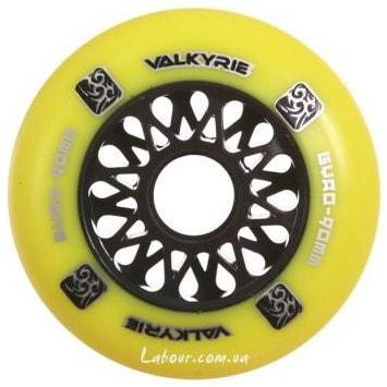 Колеса для роликовых коньков купить Gyro Valkyrie Yellow '12