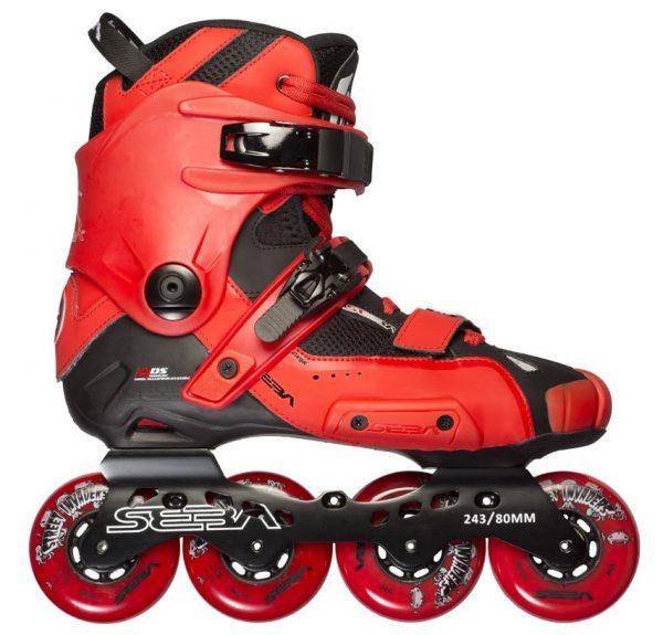 Фрискейт ролики купить Seba High Red '13
